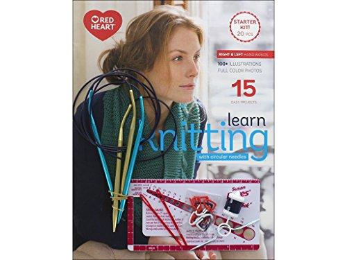 Susan Bates Bates Learn Knitting with Circular Needles Kit