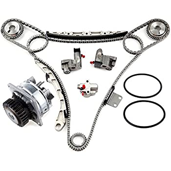 Amazon Com Eccpp Ts20967 Timing Chain Water Pump Fits For 2002 2007