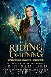 Riding Lightning: A Reverse Harem Dragon Fantasy (Starcrossed Dragons Book 1)