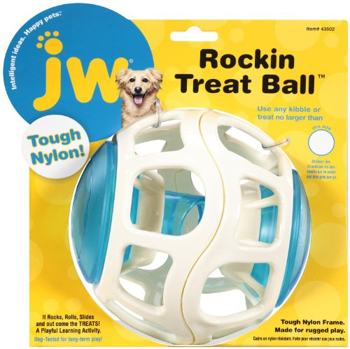 JW Pet Company Rockin Treat Ball for Dogs (Jw Pet Dog Treats)