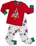 Amazon Price History for:shelry Girls Pajamas Children Christmas Gift Set Kids Sleepwear Toddler Cotton Clothes