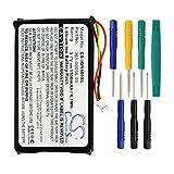 Cameron Sino Replacement 1100mAh GPS Navigator Battery For Garmin Nuvi 30, Nuvi 40, Nuvi 40LM, Nuvi 50, Nuvi 50LM Part No.361-00056-00 With Tools Kit