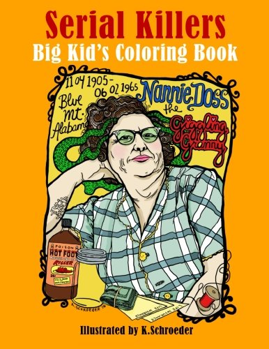 Serial Killers: Adult Coloring Book (Christmas Coloring Az Pages)