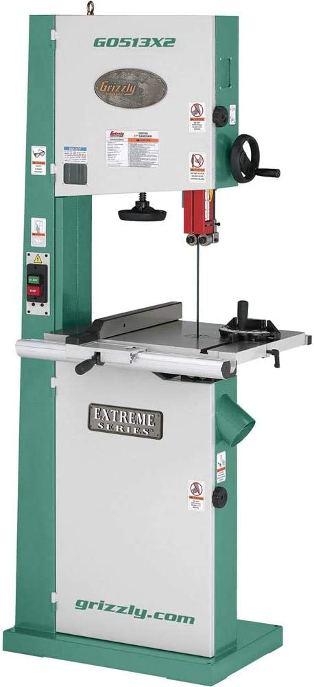 Grizzly Industrial G0513X2 17 Inch 2 HP Bandsaw