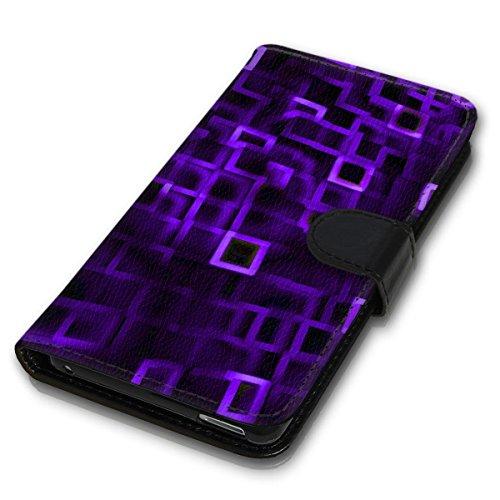 Wallet Book Style Flip Handy Tasche Case Schutz Hülle Schale Motiv Etui für Apple iPhone 4 / 4S - Design Flip MV189