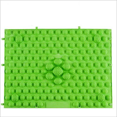 ファブリックラッシュ従事したウォークマット 裏板セット(ABS樹脂製補強板付き) (グリーン)