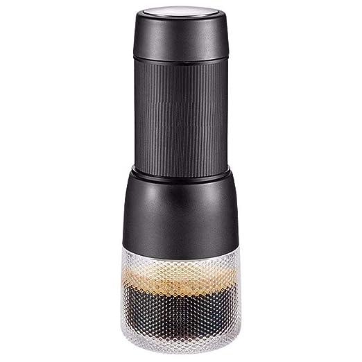 ROLLHG Portátil Cafetera, Compatible con el café molido y ...