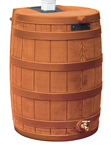 Good Ideas RW40-TC Rain Wizard Rain Barrel 40-Gallon, Terra Cotta