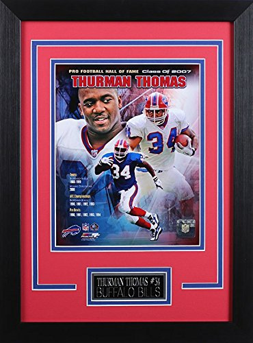 Thurman Thomas Framed 8x10 Buffalo Bills Photo ()