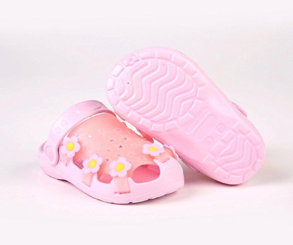 Kids Sandals in//Outdoor Toddler Clogs Shoes//Pink Floret 15CM Length