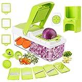 TOROTON Vegetable Chopper Mandoline Slicer Dicer, Onion Chopper...