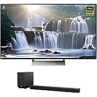 Sony XBR-65X930E 65-inch 4K HDR Ultra HD Smart LED TV (2017 Model) w/ Sony HT-ST5000 7.1.2ch 800W Dolby Atmos Sound Bar
