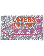 From St Xavier Women's This Way Clutch, Silver/Multi, One Size