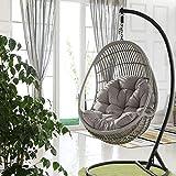 swing hanging basket seat cushion, thicken hanging egg hammock chair pads waterproof chair seat