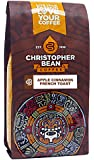 Christopher Bean Coffee Apple Cinnamon French Toast Ground Coffee, 12 Ounce