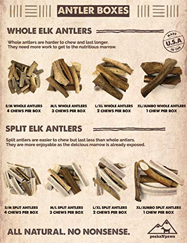 51gF4ickrcL - All-Natural Split Elk Antlers for Dogs