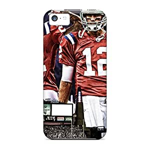 MMZ DIY PHONE CASEJacquieWasylnuk ipod touch 4 Scratch Protection Phone Cases Provide Private Custom Lifelike New England Patriots Image [KUC6924gyWg]