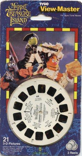 (View Master Muppet Treasure Island 3 Reel Set - 21 3D Images)