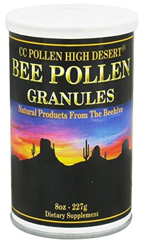 Pollen Granules CC Pollen 8 oz Can Cc Bee Pollen