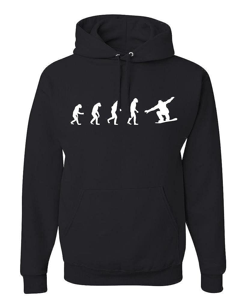 Evolution Of Man Hoodie Sweatshirt