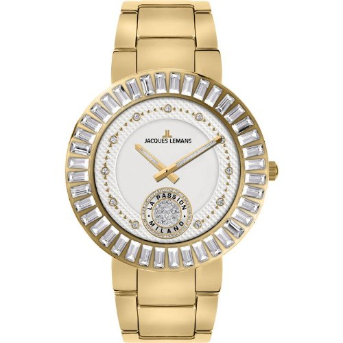 Jacques Lemans Milano Wristwatch for women With Swarovski crystals