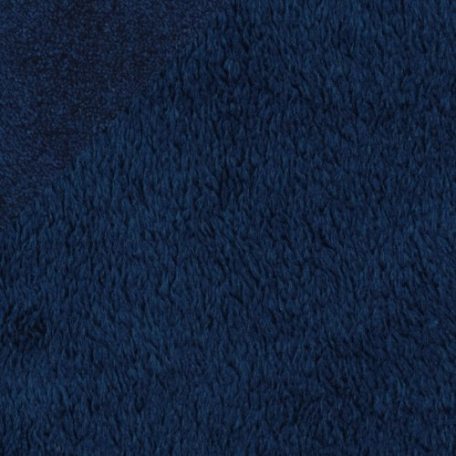 Shannon Minky Cuddle Fleece Navy Fabric By The (Cuddle Fleece Fabric)
