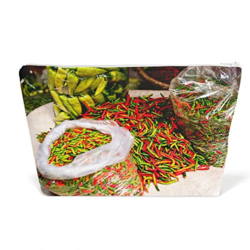 Westlake Art - Vegetable Pepper - Pen Pencil Marker Accessory Case - Picture Photography Office School Pouch Holder Storage Organizer - 125x85 inch (Mexican Cooking Pottery)