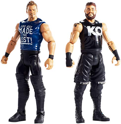 WWE Tough Talkers Total Tag Team Kevin Owens & Chris Jericho, 2-Pack