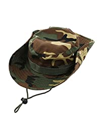 WINOMO Military Camo Fishing Boonie Hat Hunting Bucket Hats Outdoor Wide Brim Fishing Hat