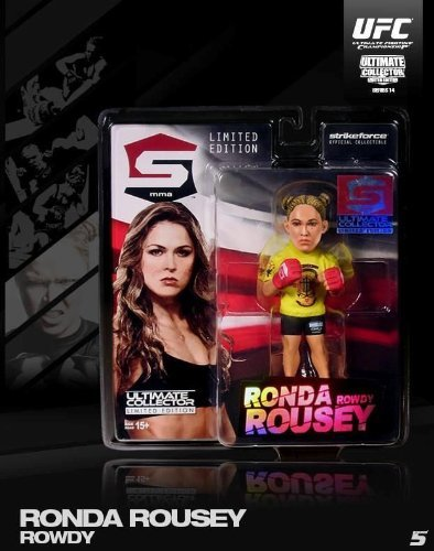 Round 5 UFC Series 14 Ltd Edition Action Figure - Ronda Rousey - Strikeforce by Round 5 MMA