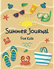 Summer Journal for Kids: Hello Summer Children Notebook Vacation Travel Activities Journal Gift for your Children Girl Boy