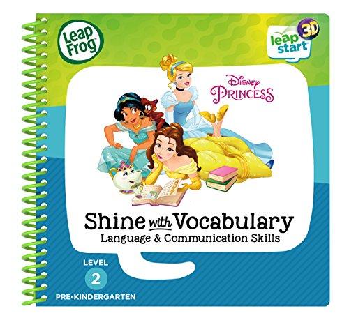 D Disney Princess Shine with Vocabulary Book ()