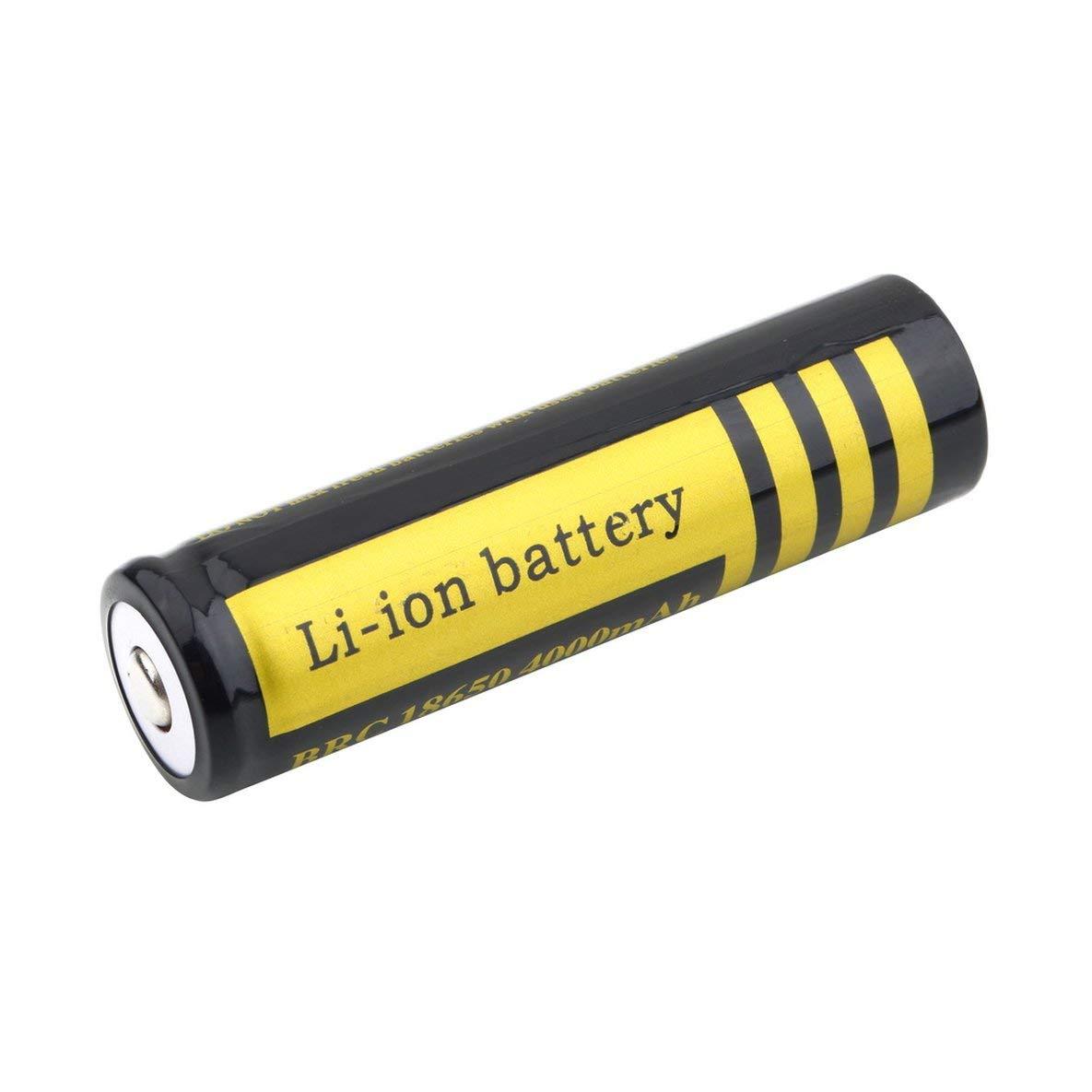 Durable 18650 4000mAh 3.7 V Baterí a de ion de litio recargable original nueva para linterna antorcha Baterí a de larga duració n de servicio Moliies