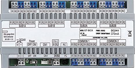 Amazon.com: Aiphone Corporation GT-BCX Expanded Audio Bus Control Unit for GT Series, Multi-Tenant Intercom, ABS Plastic Construction: Industrial & ...