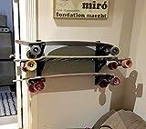 StoreYourBoard Skateboard Rack, 3 Board Wall