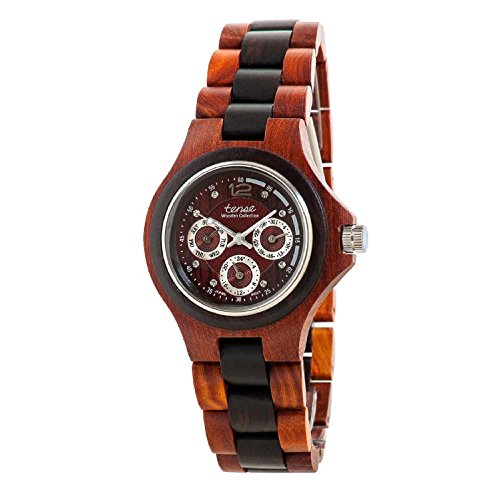 Tense Multi Eye Two-Tone Mens Northwest Wood Watch G4300SDR