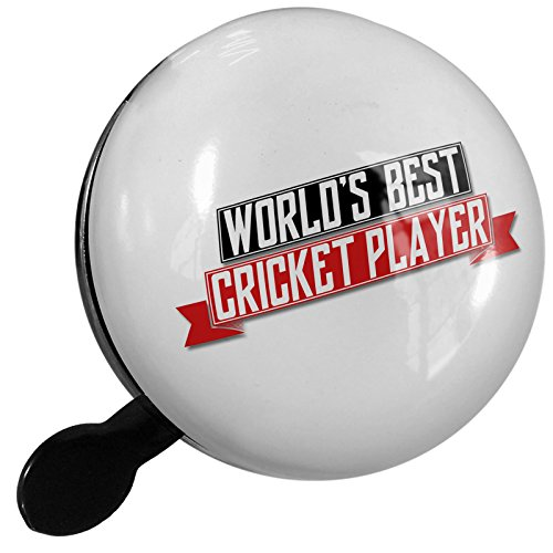 Small Bike Bell Worlds Best Cricket Player - NEONBLOND by NEONBLOND
