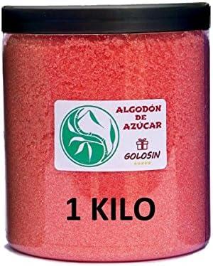 Azúcar para Algodón de Azúcar - Sabor FRESA 1 Kg.: Amazon.es ...