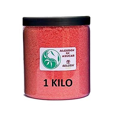 9f58d55a79541 Azúcar para Algodón de Azúcar - Sabor FRESA 1 Kg.  Amazon.es  Alimentación  y bebidas