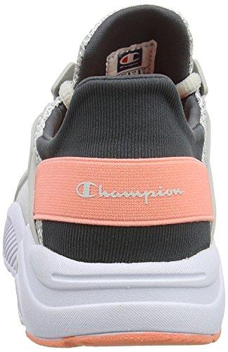 Nytron Cut Shoe Em007 Melange Scarpe Low Champion silver Donna Running Grigio pPqUt5x5wa
