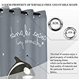 hoover dam puzzle - vanfan 2 Panel Set Digital Printed Blackout Window Curtains for Bedroom Living Room Dining Room Kids Youth Room Window Drapes(W108x L45