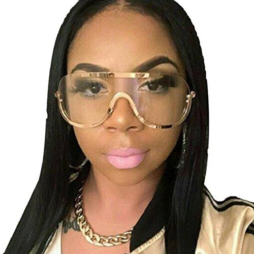 Ikevan 2017 Fashion Retro Newest Women Vintage Retro Glasses Unisex Fashion Aviator Mirror Lens Sunglasses - 2017 Fashion Sunglasses