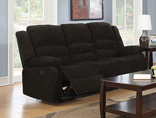 1PerfectChoice Gordon Brown Casual Reclining Sofa