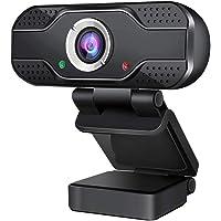 SEEDARY Cámara Web USB 1080P con micrófono, cámara Web Full HD para Ordenador portátil y de sobremesa, videollamada y…
