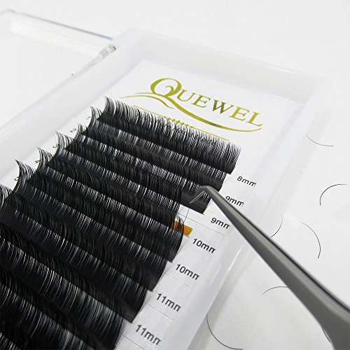 Eyelash Extension Supplies|Thickness 0.07 Curl C/D Length From 6mm To 18mm Mix-8-14mm| Best Soft Eyelash Extension(0.07 C Curl, Mix-8-14mm)