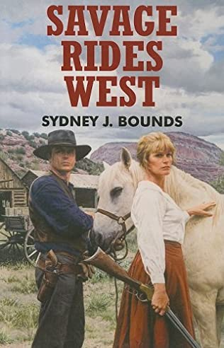 book cover of Savage Rides West