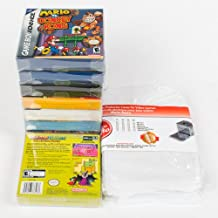 25 Mario Retro Game Boy GB GBA Clear Plastic Box Protectors sleeve Box Video Game Display BOX Case Nintendo Game Crystal Clear – Scratch Resistant - 100% Satisfaction Guaranteed!