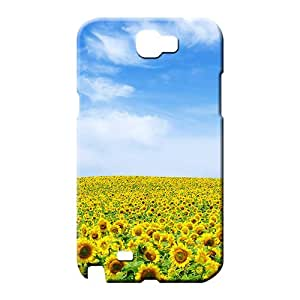 samsung note 2 High New Style Hot New mobile phone carrying skins sunflower landscape
