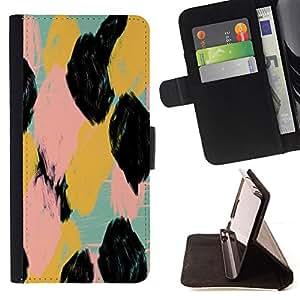 "For Sony Xperia M4 Aqua,S-type Spots Pattern Acuarela Animales"" - Dibujo PU billetera de cuero Funda Case Caso de la piel de la bolsa protectora"
