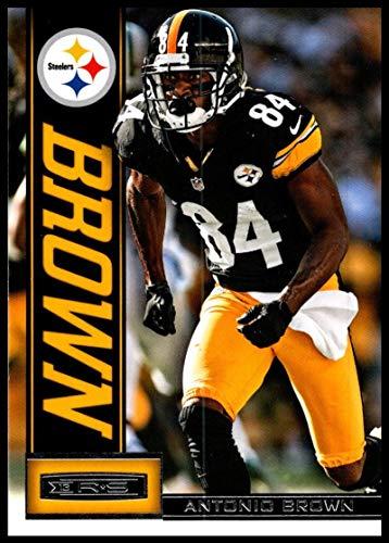 2013 Panini Rookies and Stars #79 Antonio Brown NM-MT Pittsburgh Steelers Official NFL Football Trading Card (Panini Rookies Stars)